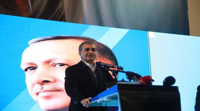 AK Parti Sözcüsü Ömer Çelik, Isparta İl Kongresinde konuştu: (1)