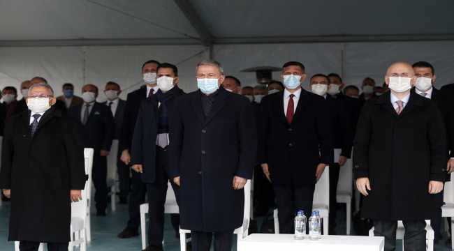 Anafartalar-Şehir Hastanesi-YHT Garı Tramvay Hattı Temel Atma Töreni