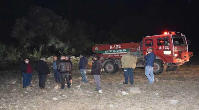 Antalya'daki orman yangını söndürüldü
