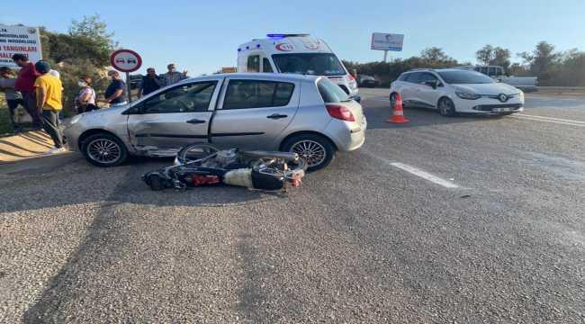 Antalya'da otomobil ile motosiklet çarpıştı: 1 ölü, 1 yaralı