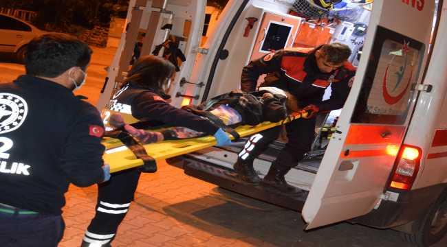 Antalya'da vinçten düşen çocuk yaralandı