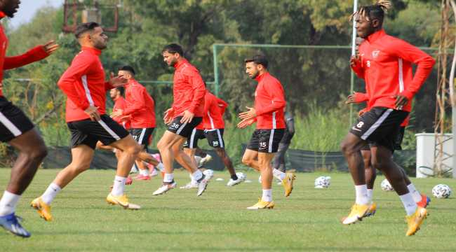 Atakaş Hatayspor, Çaykur Rizespor maçı hazırlıklarını tamamladı