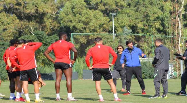 Atakaş Hatayspor, Çaykur Rizespor maçının hazırlıklarını sürdürdü