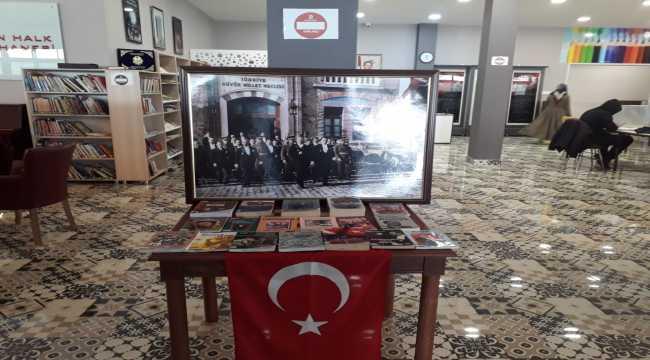 Atatürk hakkındaki kitaplar Başkent kütüphanelerinde