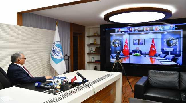 Başkan Büyükkılıç'tan Kovid-19 uyarısı