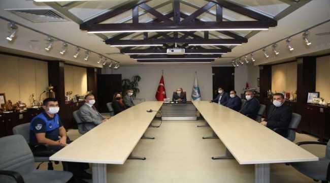 Bem-Bir-Sen Genel Başkanı Uslu'dan Büyükşehir Belediyesine ziyaret