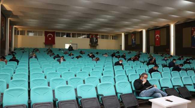 Beyşehir'de amatör denizcilik belgesi sınavı yapıldı