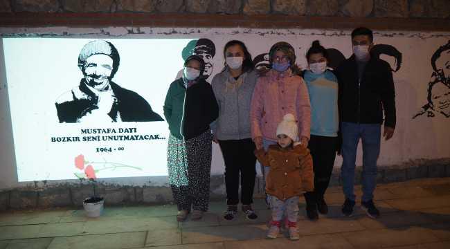Bozkır, öldürülen Mustafa Sömek için tek yürek oldu