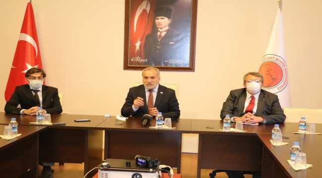 Bozok Üniversitesi Rektörü Karadağ,