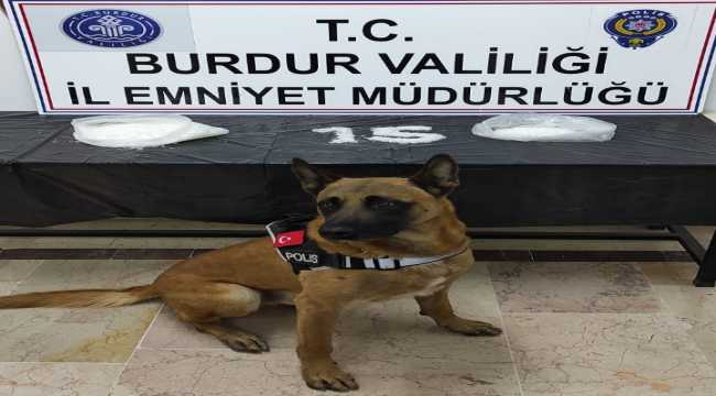 Burdur'da uyuşturucu operasyonunda yabancı uyruklu bir kişi tutuklandı