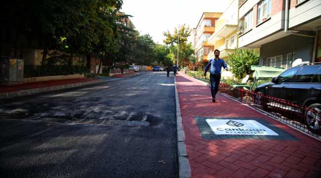 Çankaya Belediyesinden Sağlıklı Sokaklar Projesi