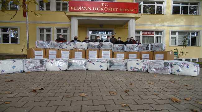 Çankırı'dan deprem yaşanan İzmir'e yardım