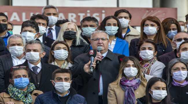 CHP'lilerden Kılıçdaroğlu'na yönelik tehdit içerikli yazıya tepki