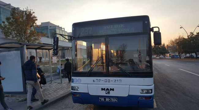 Toplu taşıma araç saatlerine Kovid-19 düzenlemesi