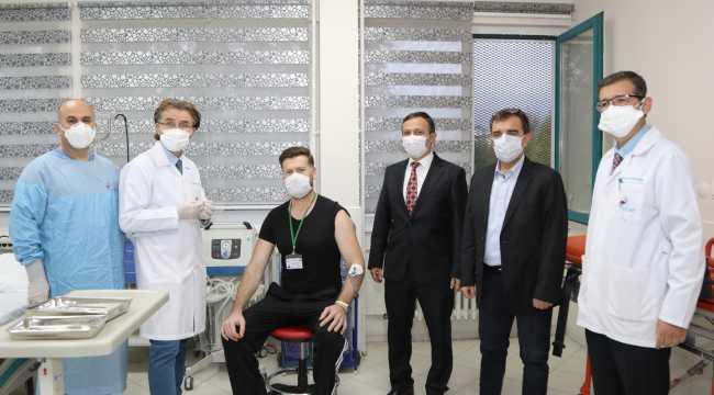 Erciyes Üniversitesi'nde Kovid-19'a karşı geliştirilen