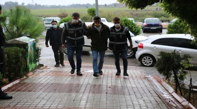 Adana'daki 'maskeli' cinayet zanlısı tutuklandı