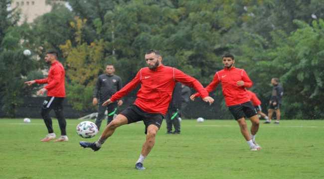 Hatayspor, Şanlıurfaspor maçı hazırlıklarını tamamladı