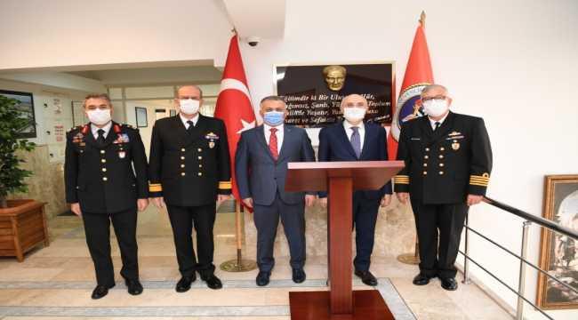 İçişleri Bakan Yardımcısı Erdil, Antalya Sahil Güvenlik Komutanlığını ziyaret etti