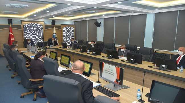 Karaman'da Teknopark Yönetim Kurulu toplantısı