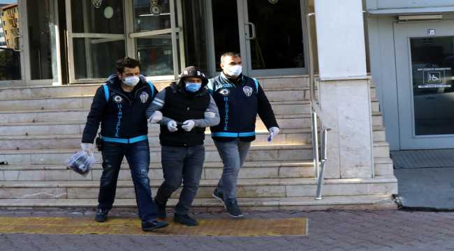 Kayseri'de suçüstü yakalanan zanlının 21 hırsızlık olayının faili olduğu belirlendi