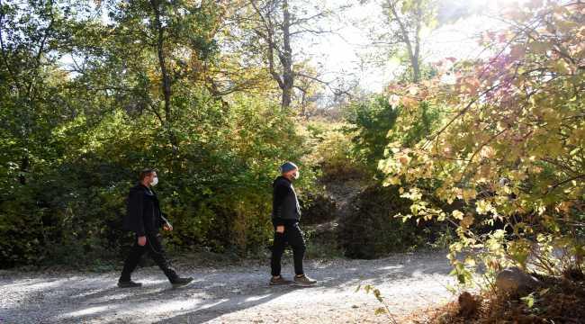 Kayseri'nin doğal güzellikleri göz alıcı sonbahar renkleriyle hayran bırakıyor