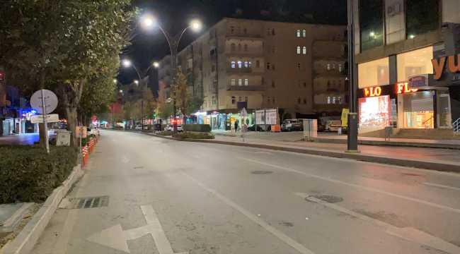 Kayseri ve Kırşehir'de sokağa çıkma kısıtlaması başladı