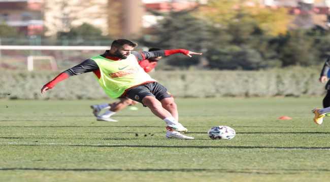 Kayserispor'da Galatasaray maçı hazırlıkları devam ediyor