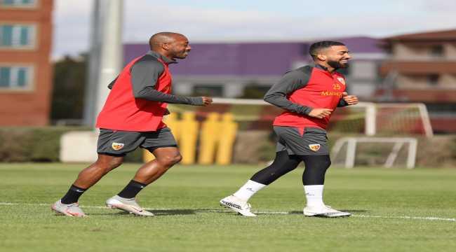 Kayserispor, Hatayspor maçı hazırlıklarını tamamladı