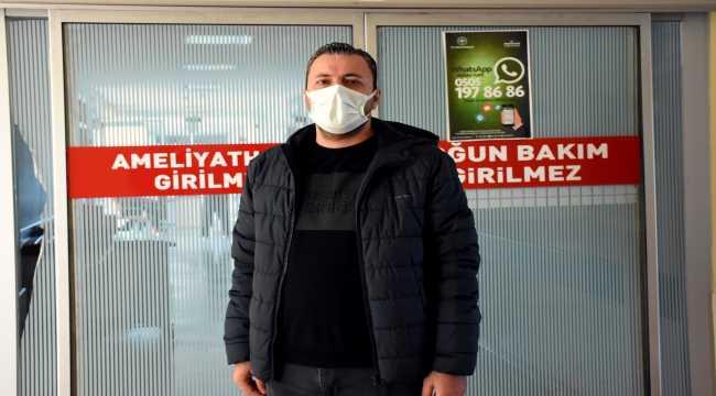 Kovid Hastası: 'Bir ay sonra ilk defa güneşi gördüm'