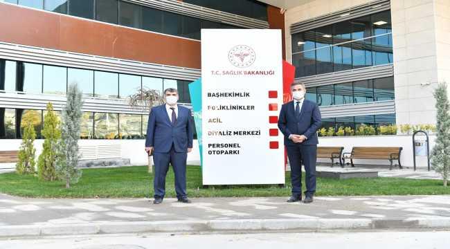 Mamak Devlet Hastanesi açılış için gün sayıyor