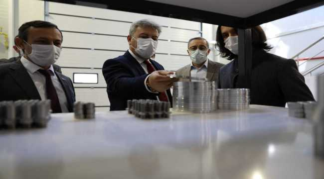 Melikgazi Belediye Başkanı Palancıoğlu, Erciyes Teknopark'ı ziyaret etti