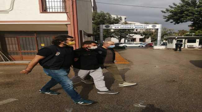 Mersin'de 47 yıl hapis cezasıyla aranan hükümlü yakalandı