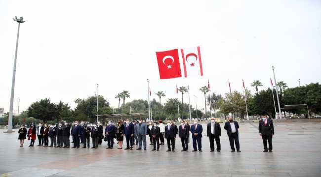 Mersin'de KKTC'nin 37. kuruluş yıl dönümü kutlandı