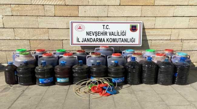 Nevşehir'de sahte içki operasyonu