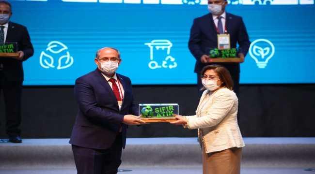 Sıfır Atık Projesinden Karapınar Belediyesine ödül