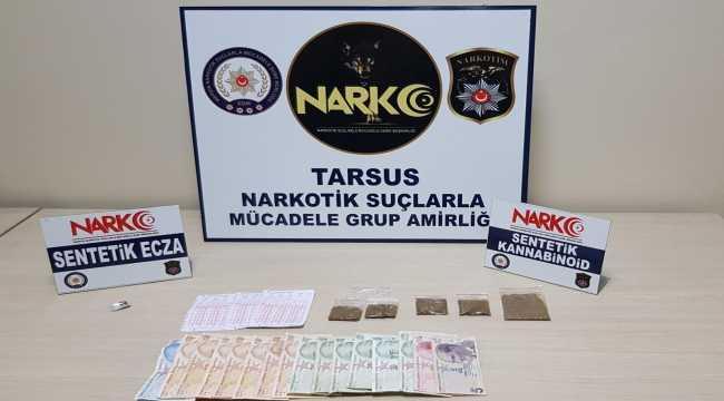 Tarsus'ta çeşitli suçlardan aranan 127 kişi yakalandı