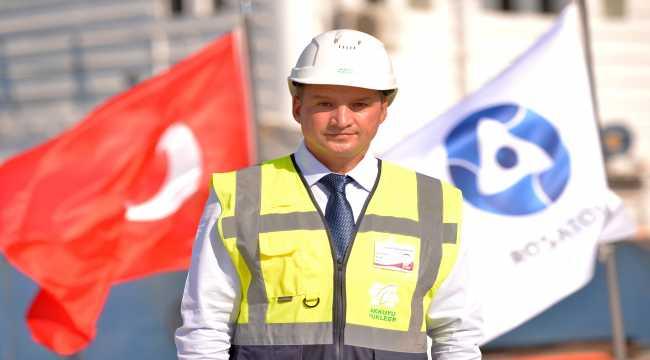 Türkiye'nin ilk nükleer güç santralinin yapımı hedeflenen programda ilerliyor