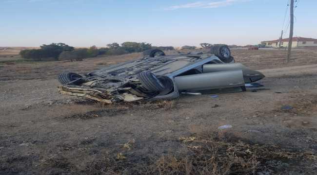 Otomobilin devrilmesi sonucu iki polis öldü