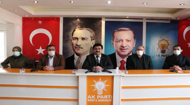 AK Parti Niğde İl Başkanı Mahmut Peşin, kongrede aday olmayacak