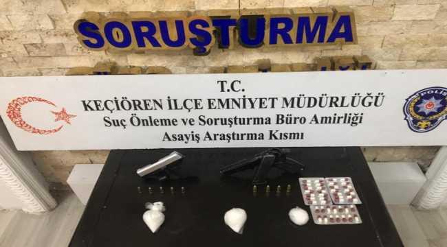 Ankara'da uyuşturucu operasyonu: 8 gözaltı