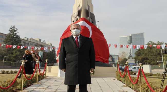 Atatürk'ün Ankara'ya gelişinin anısına yapılan