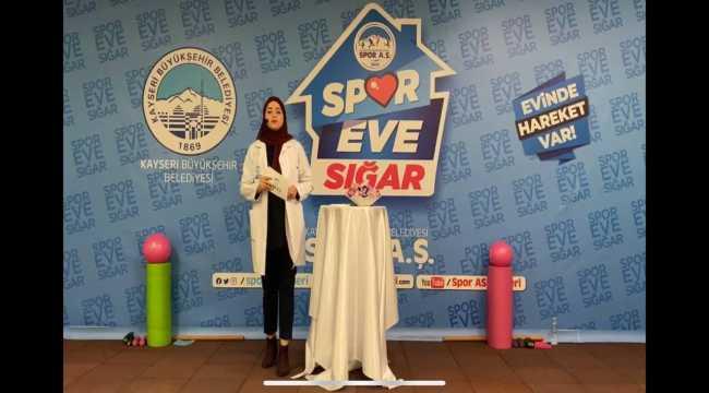Büyükşehir Belediyesi Spor AŞ, evde de hizmete devam ediyor