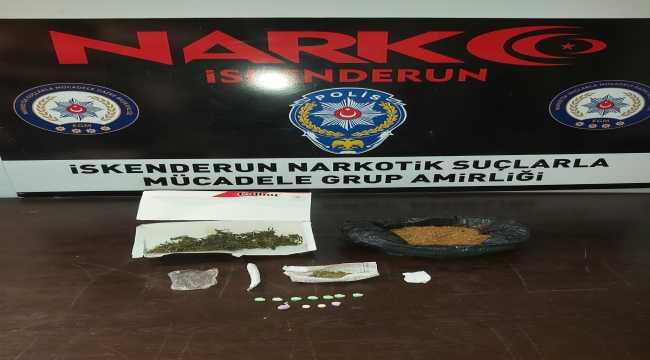 Hatay'da uyuşturucu operasyonu: 2 gözaltı
