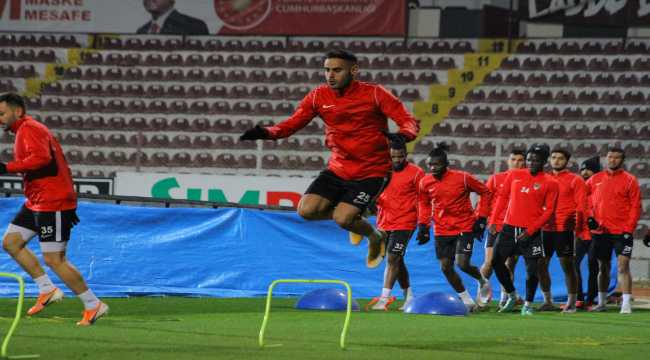 Hatayspor, Antalyaspor maçının hazırlıklarını sürdürdü