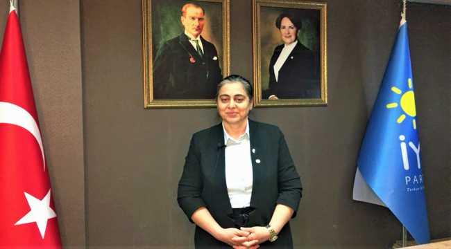 İYİ Parti Melikgazi İlçe Başkanlığı görevine Güler Funda Dağ getirildi