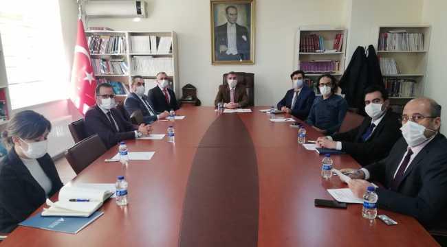 Kamu-Üniversite-Sanayi İşbirliği İl Planlama ve Geliştirme Kurulu Toplantısı yapıldı