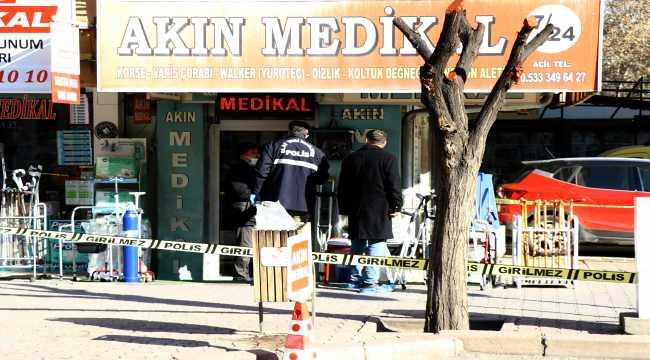 Kayseri'de komşu esnafın otopark kavgasında 2 kişi silahla yaralandı