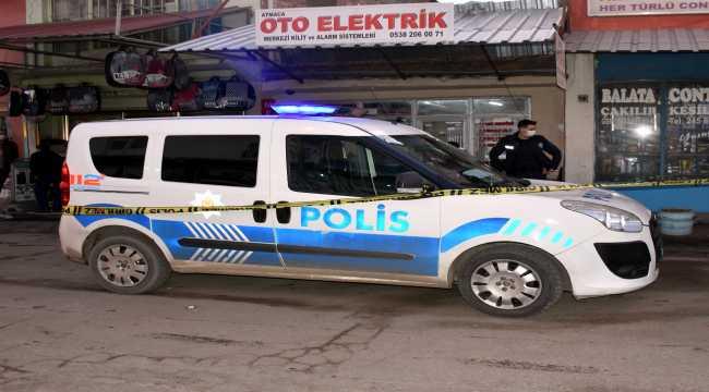 Kırıkkale'de iş yerine silahlı saldırı: 1 yaralı