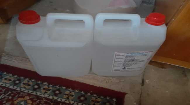 Kırşehir'de 372 litre sahte içki ele geçirildi