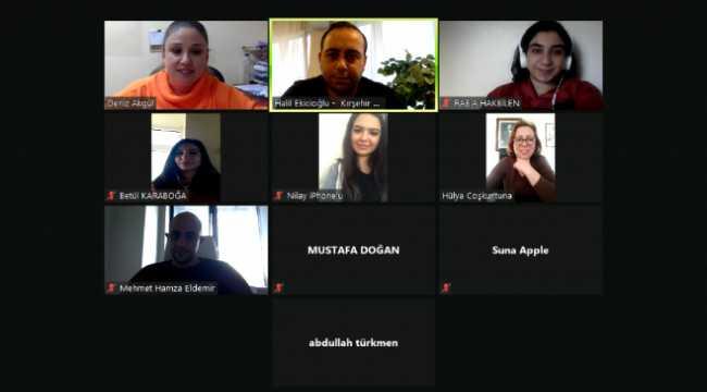 Kırşehir'de üniversite öğrencilerine online girişimcilik semineri